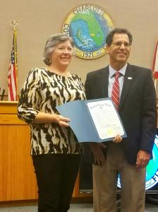 Artist Sharon Eng Proclaimed Charlotte County Artist Of The Month
